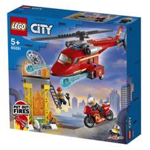 Lego CITY -Fire Rescue Helicopter კონსტრუქტორი