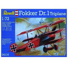 Revell Fokker DR. 1 Triplane ასაწყობი თვითმფრინავი