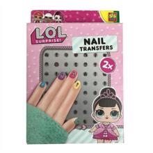 Ses LOL Nail transfers ფრჩხილის ლაქის აქსესუარები