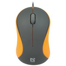 Defender Accura MS-970 Grey + Orange მაუსი