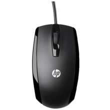 HP X500 Wired Mouse მაუსი
