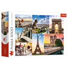 TREFL Puzzles 3000 Magic of Paris collage ფაზლი