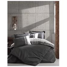 Cozy Home ორსაწოლიანი რენფორსის თეთრეულის კომპლექტი Rosinda Grey