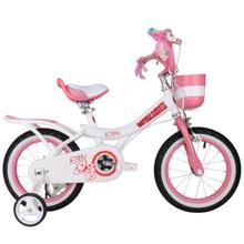"Royalbaby Jenny Princess White ველოსიპედი 16"""