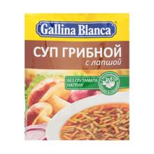 Gallina Blanca სუპი სოკოს არომატით 52 გრ