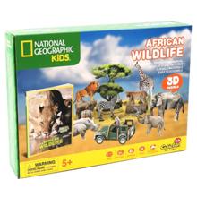 Cubic Fun 3D ფაზლი   აფრიკული ველური ბუნება