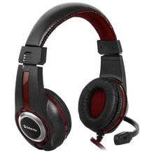 Defender Warhead G-185 Black + Red Gaming ყურსასმენი