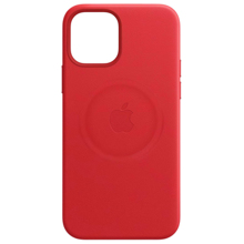 Apple iPhone 12 mini Leather Case with MagSafe ქეისი
