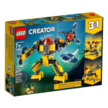 lego Creator - წყალქვეშა რობოტი