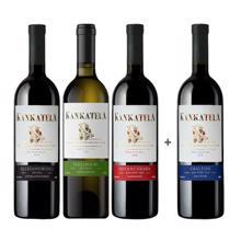 Kankatela 3+1 ღვინის ნაკრები