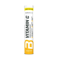 Haya Labs Vitamin C effervescent tablets Lemon ვიტამინი