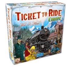 bgc სამაგიდო თამაში Ticket to Ride Europe