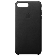Apple Leather Case for iPhone 8 Plus/7 Plus Black ქეისი