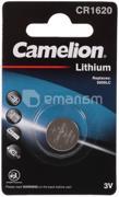 Camelion  ელემენტი Camelion Lithium CR1620 3V 1 ც