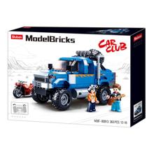 Sluban Model Bricks - ლურჯი პიკაპი