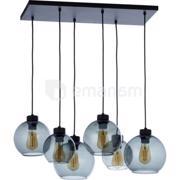 TK Lighting საკიდი TK Lighting CUBUS გრაფიტი 2833 6хE27 60W