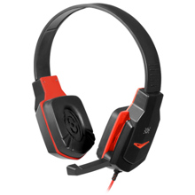 Defender Warhead G-320 Black+Red Gaming ყურსასმენი