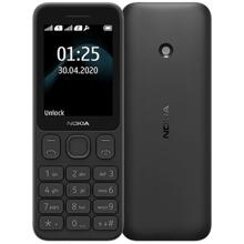 Nokia 125 Black მობილური ტელეფონი