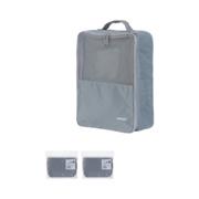 ჩანთა ფეხსაცმლის/MINIGO Portable Shoe Bag (Grey)