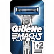 დანადგარი Gillette Mach3 Turbo Aloe