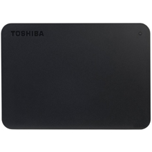 TOSHIBA External Hard Drive Canvio Basics + USB-C adapter მყარი დისკი