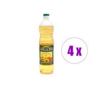 4  ბოთლი მზესუმზირის ზეთი  Аведовъ 1 ლ