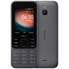 Nokia 6300 4G Charcoal მობილური ტელეფონი