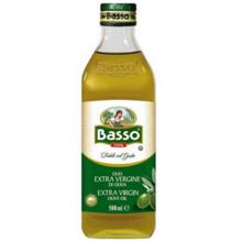 """Basso - ზეითუნის ზეთი - """"ექსტრა ვირჯინი"""" 500 მლ"""