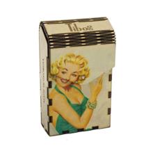 ხის ყუთი Sexy Monroe
