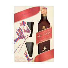 Johnnie Walker ვისკის სასაჩუქრე ნაკრები Red Label 700 მლ