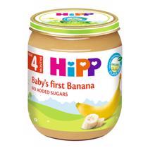 HIPP ხილფაფა ბანანით 125 გრ