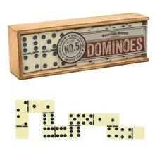 Tortuga White Dominoes სამაგიდო თამაში