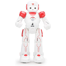 JJRC სათამაშო ჭკვიანი რობოტი  R12 Cady Wiso Intelligent Remote RC Control Robot Toy red