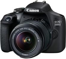 Canon ფოტოაპარატი EOS 2000D - 18-55 IS  KIT