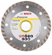 BOSCH ალმასის დისკი Bosch ECO Universal Turbo 115x22.23 მმ