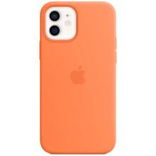 Apple iPhone 12/12 Pro Silicone Case with MagSafe Kumquat მობილურის ქეისი