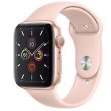 Apple Watch Series 5 GPS  44mm Gold სმარტ საათი