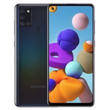 Samsung Galaxy A21s 4/64GB LTE Black მობილური ტელეფონი