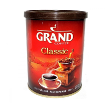 Grand ხსნადი ყავა 100 გრ
