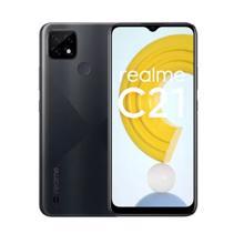 Realme C21 4/64GB Black მობილური ტელეფონი