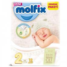 Molfix ბავშვის საფენი N2 #12