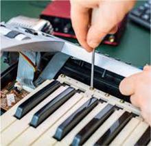 ელექტრო პიანინოების შეკეთება