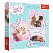 """TREFL  """"3 in 1"""" - Sweet kittens / Getty Images ფაზლი"""