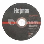 დისკი საჭრელი ლითონის Hetman 41 14А 125x1.6x22.23 მმ