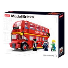 Sluban Model Bricks - ლონდონის ორსართულიანი ავტობუსი