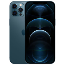 Apple iPhone 12 Pro Max 128GB Pacific Blue მობილური ტელეფონი