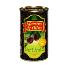 Maestro de Oliva შავი ზეთისხილი 370 მლ