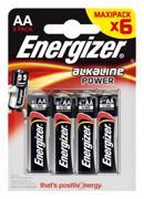 Energizer ელემენტი Energizer AA Alkaline Power 6 ც