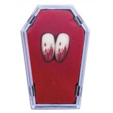 MyDay ვამპირის კბილები სისხლით წებოთი