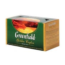 Greenfield შავი ჩაი Golden Ceylon 50 გრ